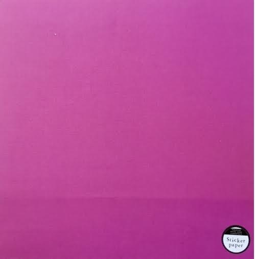 Papel Cardstock Adesivo Raspberry
