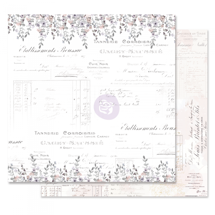 Lavender Frost Collection - Papel My Confesssion - Prima Marketing