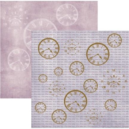 Papel Era Uma Vez Relógios Metalizados
