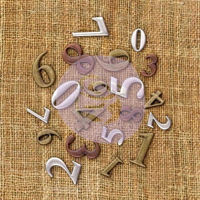 Vintage Trinkets - Finnabair - Números