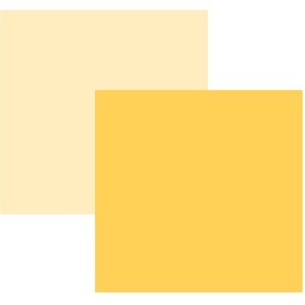Papel Cardstock TEC Amarelo