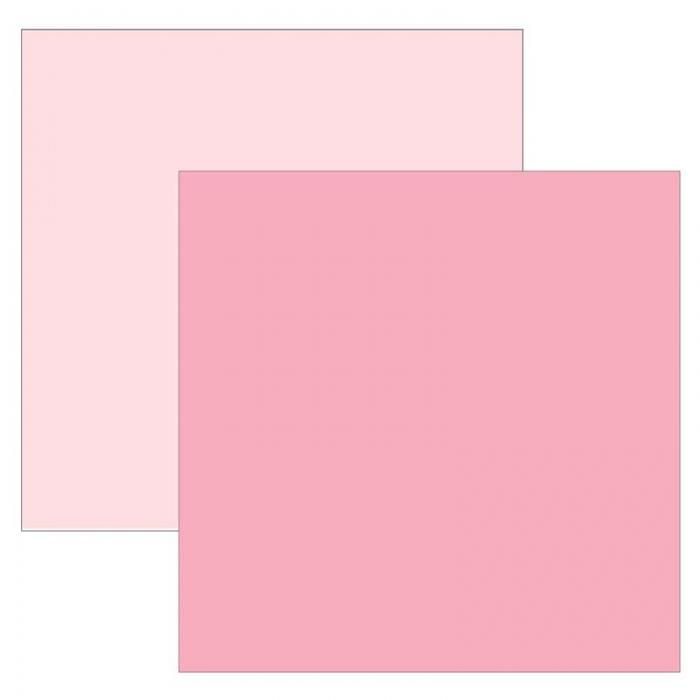 Papel Cardstock TEC Rosa Bebê
