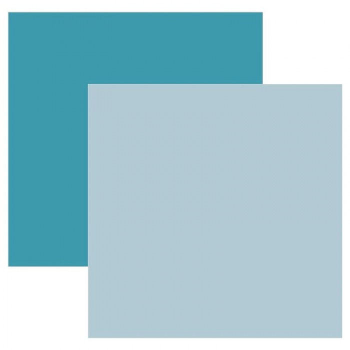 Papel Cardstock TEC Verde Azulado