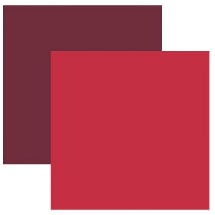 Papel Cardstock TEC Vermelho
