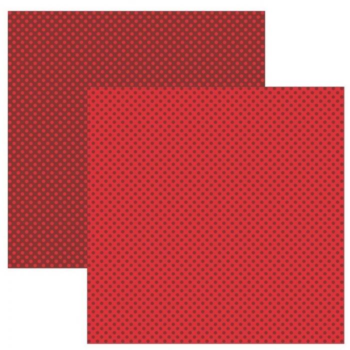 Papel TEC Vermelho FB Poá Pequeno