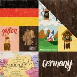 Papel Alemanha Around The World