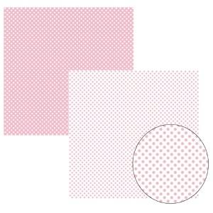 Papel TEC Rosa Bebê Poá