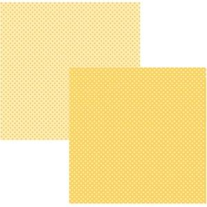 Papel Tec Amarelo Poá