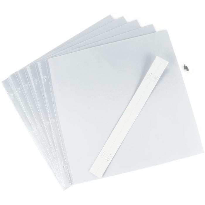 Refil Plástico Pacote P/ Álbum Pioneer