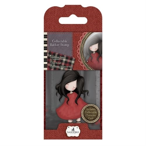 Carimbo Gorjuss Mini N.18 Poppy Wood