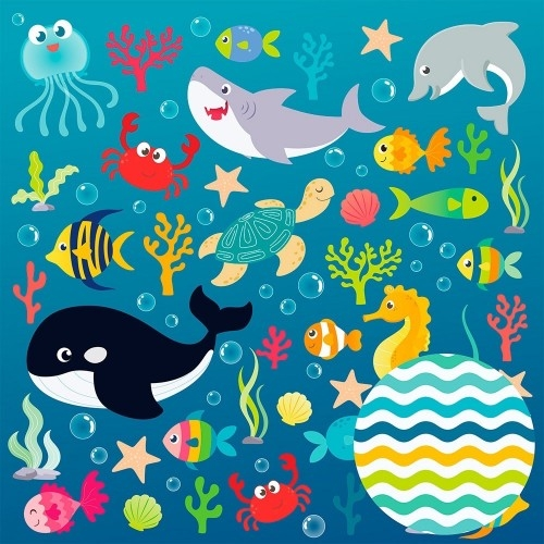 Papel Fundo do Mar