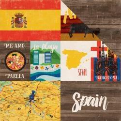 Papel Espanha Around The World