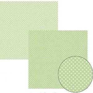 Papel TEC Verde Bebê Poá