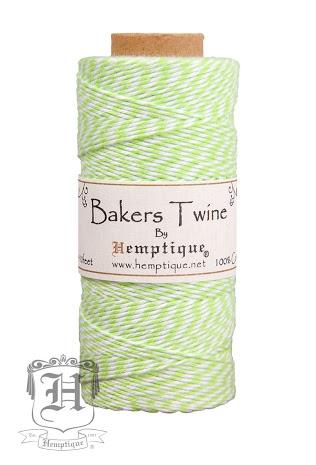 Bakers Twine Verde e Branco