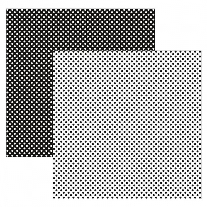 Papel TEC Preto e Branco Poá