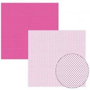 Papel TEC Pink FB Poá Pequeno