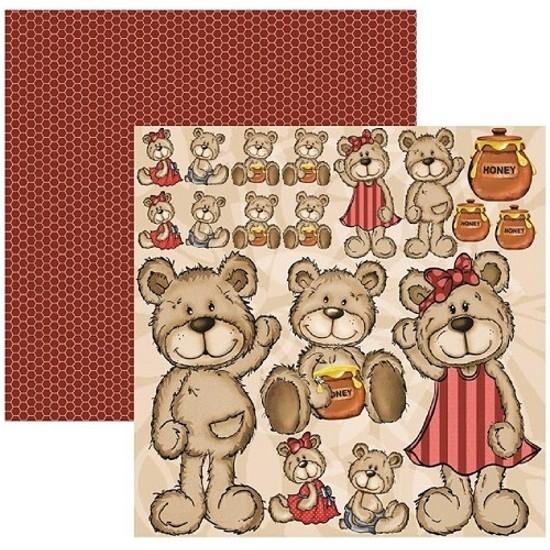 Papel Meu Amigo Urso Recortes