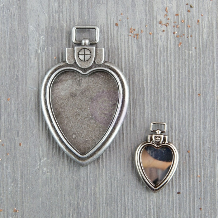 Mechanicals - Heart Locket Pendants