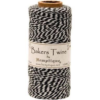 Bakers Twine Preto e Branco