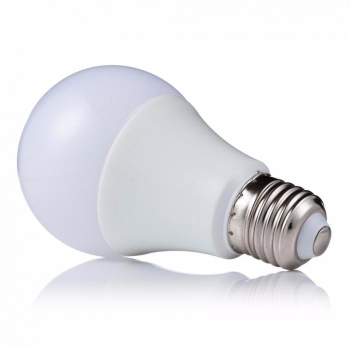Lâmpada LED 7W Bulbo Soquete E27 Branco Frio Bivolt
