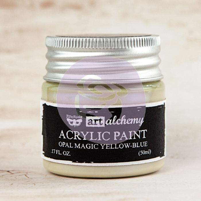 Tinta Acrílica Opal Magic Yellow-Blue - Art Alchemy - Prima Marketing