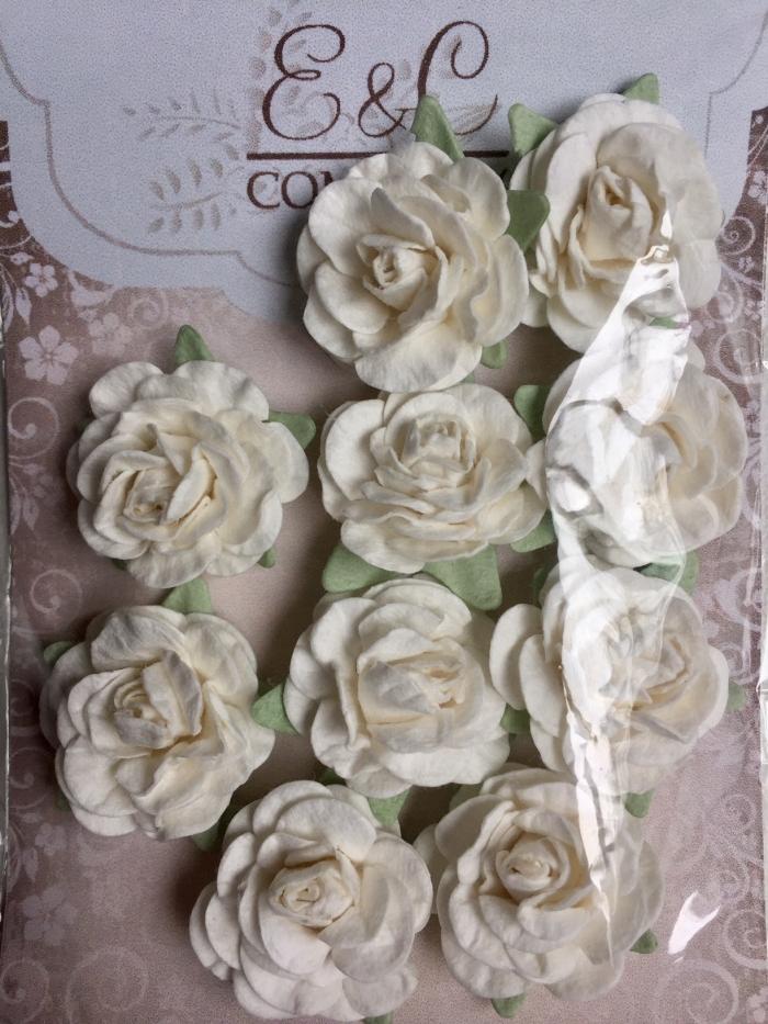 Mini Rosas Brancas