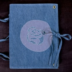 Album Vintage Vanity - Denim Journal Finnabair - Prima Marketing
