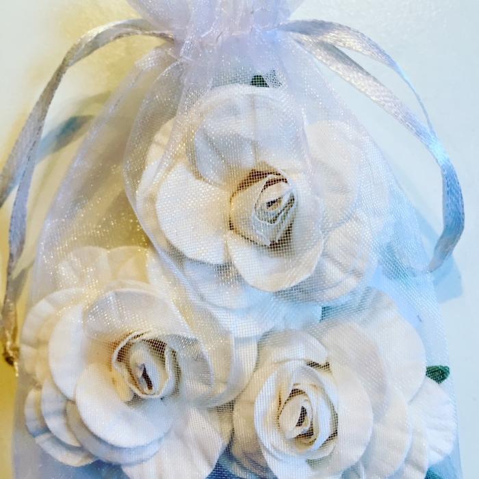 Rosas Grandes Branco - Flores