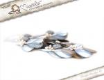 Folhas Magnolia Stamp - Silvery Mis...