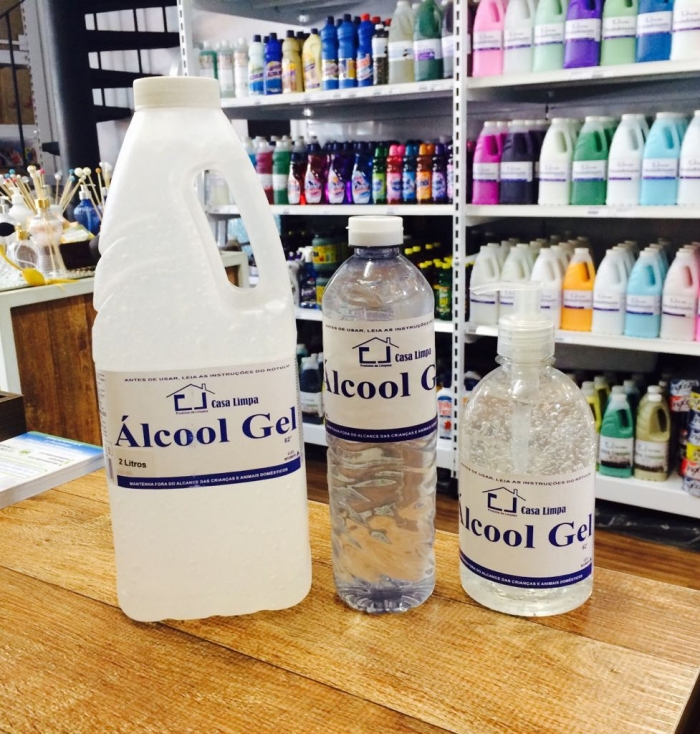 ALCOOL GEL 500ML CLIMPA