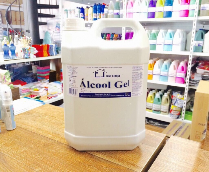 ALCOOL GEL GALAO 5L CLIMPA