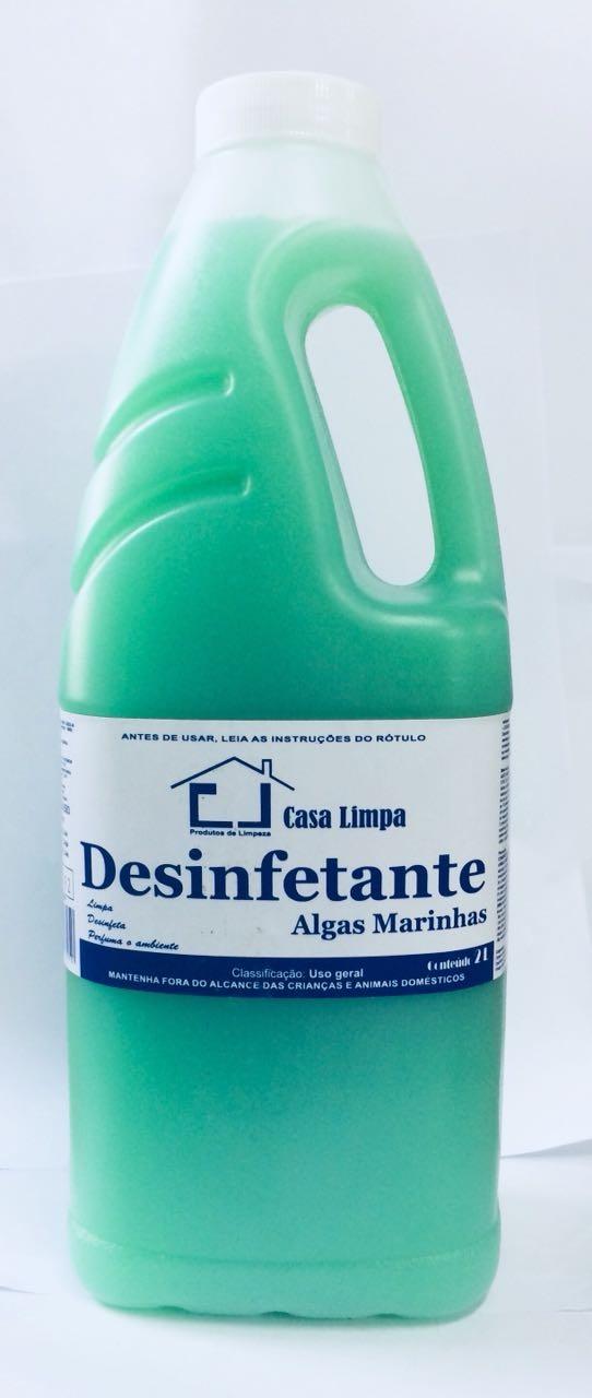 DESINFETANTE ALGAS MARINHAS 2L CLIMPA