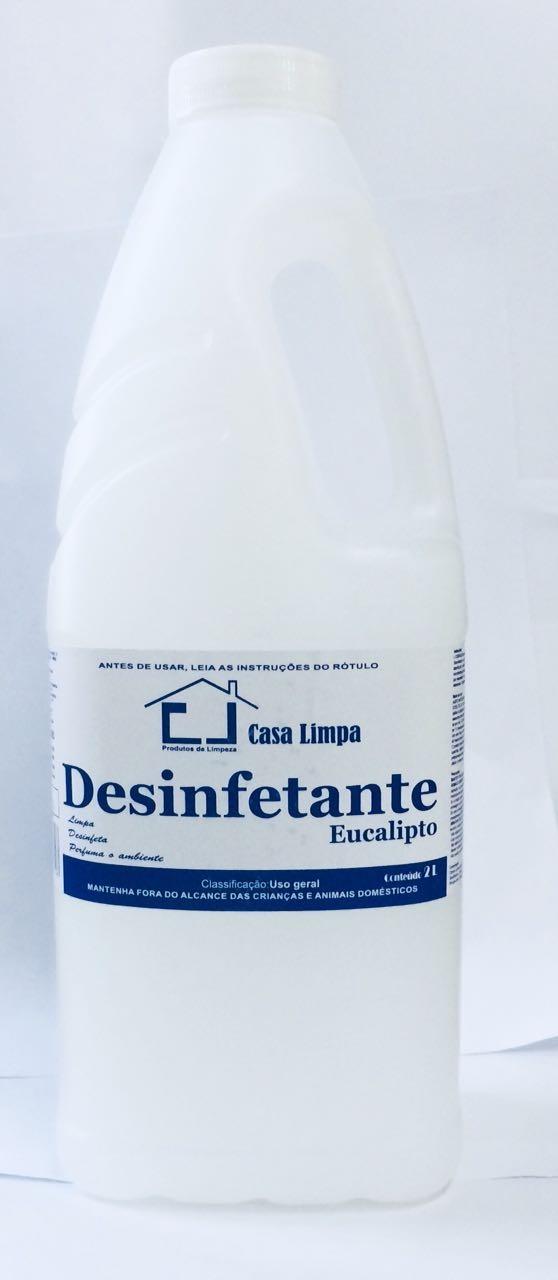 DESINFETANTE EUCALIPTO 2L CLIMPA