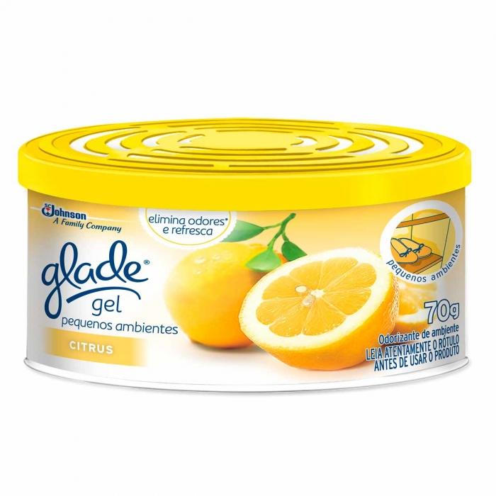 Purif ar Glade gel Citrus 70g