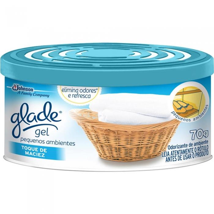 Desodorizador Glade gel Toque de maciez