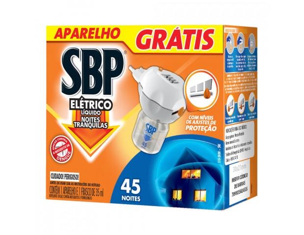 Inseticida refil SBP 45n gts aparelho