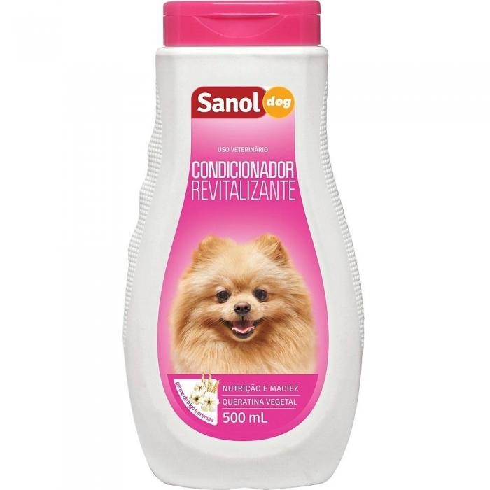 Condicionador revitalizante veterinario Sanol
