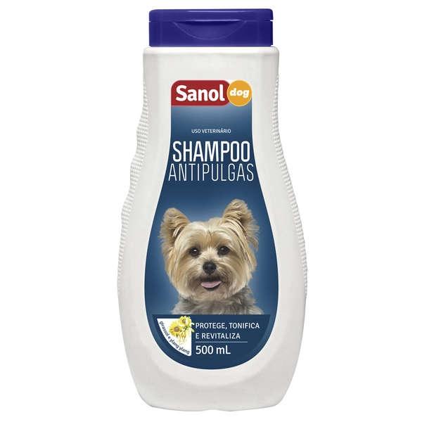 Shampoo antipulgas Sanol dog