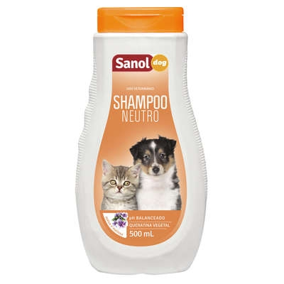 Shampoo neutro Sanol dog
