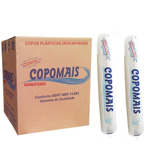 Caixa Copo 200ml transp c/2500 Copomais
