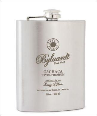 CANTIL INOX CACHAÇA EXTRA PREMIUM BYLAARDT 230ML