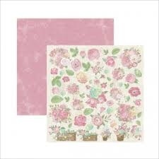 Papel Primavera Marshmallow Cestas