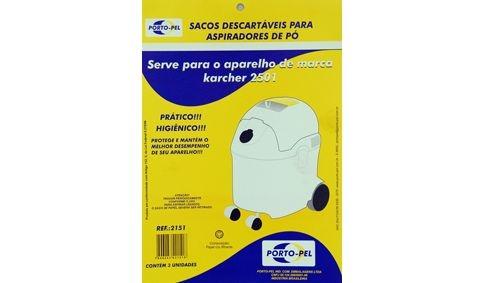 Saco aspirador Karcher 2501