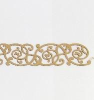 Adesivo em MDF Borda Com Arabesco 30,5 x 04 cm