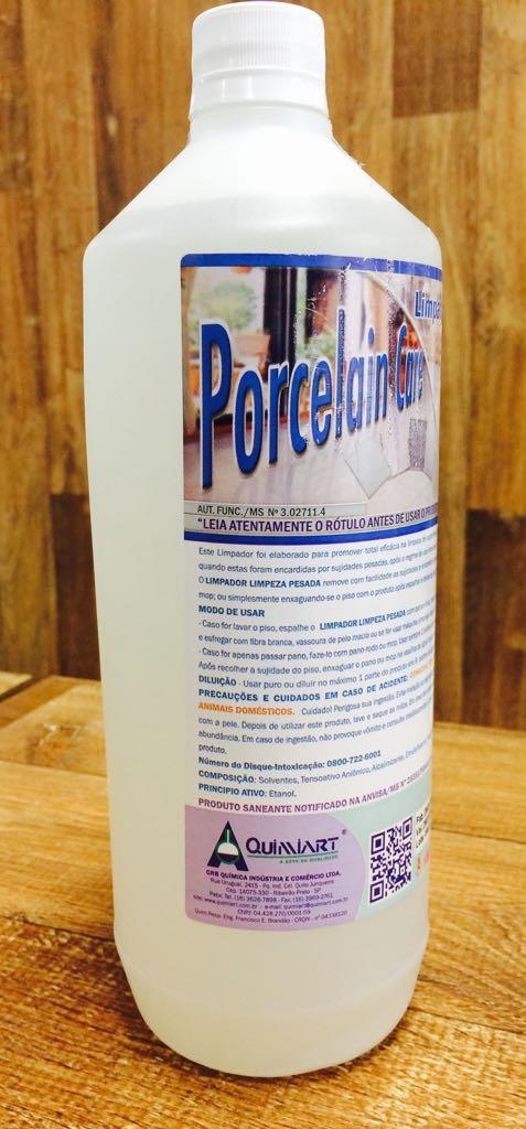 PORCELAIN CARE limpeza pesada  1L Quimiart