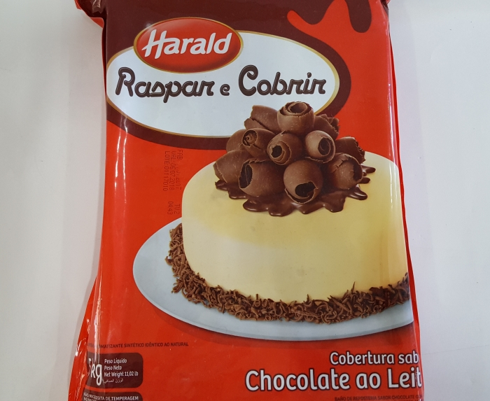 CHOCOLATE PRETO COBERTURA RASPAR E COBRIR 5 KG