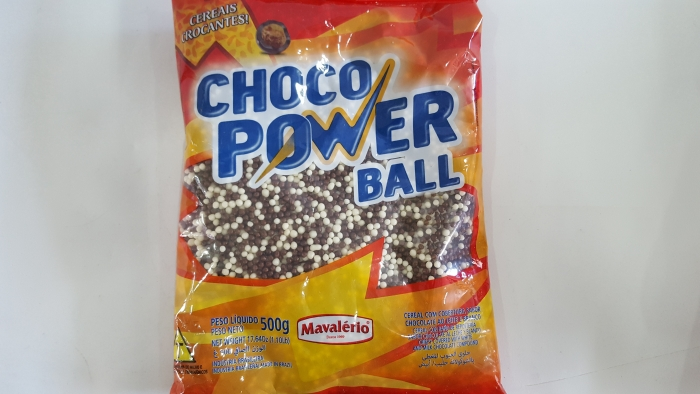CHOCO POWER BALL MICRO 500 GR MAVALERIO