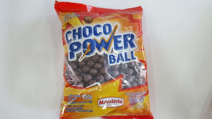 CHOCO POWER GROSSO AO LEITE 500 GR MAVALERIO