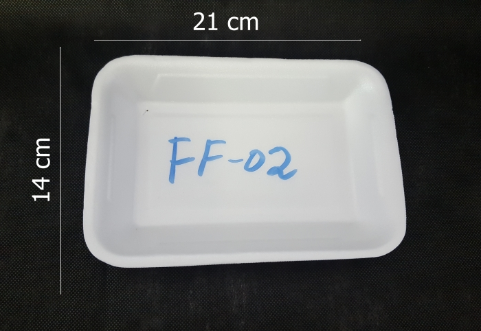 BANDEJA ISOPOR FIBRAFORM FF 02
