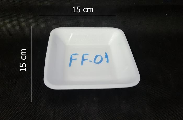 BANDEJA ISOPOR FIBRAFORM FF 01